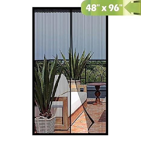 Amazon.com: Puerta de pantalla magnética., Negro, MSD ...