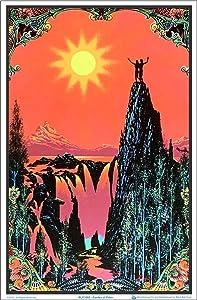 "Garden of Eden Blacklight Poster - Flocked - 23"" x 35"""