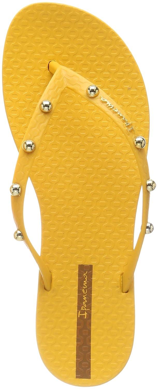 Ipanema Damen Wave Glam Fem Zehentrenner  35/36 EU|Gelb (Yellow/Yellow)