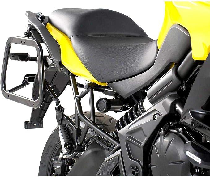Sw Motech Evo Kofferträger Quick Lock Funktion Schwarz Für Kawasaki Versys 650 15 Auto