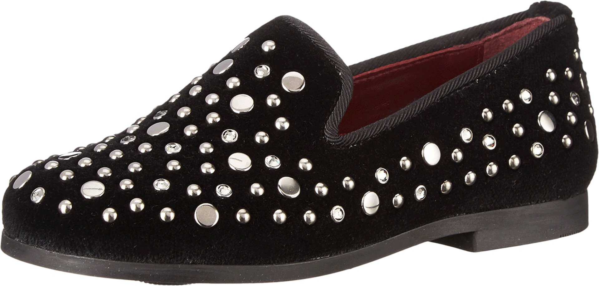 Dolce & Gabbana Kids Boys' Studded Loafer (Little Big Kid), Black, 27 (US 10 Toddler) M
