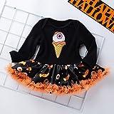 Newborn Baby Halloween Costume Set Cartoon Print