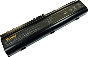New GHU Battery Replacement for 411462-141 441425-001 446506-001 446507-001 HSTNN-34C HSTNN-IB42 HSTNN-lb42 Compatible with HP Pavilion DV6000 DV6100 DV6500 DV6700 DV2000 DV2500 DV2700 DV2200 V6000