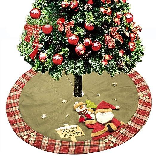 DDDD store Árbol de Navidad Falda 120cm Mini árbol de Navidad ...