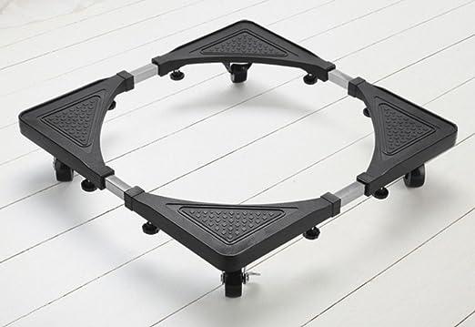 ZXMCART Base Ajustable Móvil Muebles Telescópicos Dolly Rueda De ...