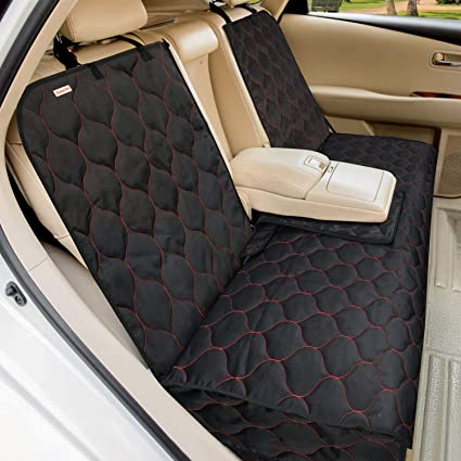Universal Waterproof Car Rear Seat Protector Cover Heavy Duty Easy Fit Pet Mat