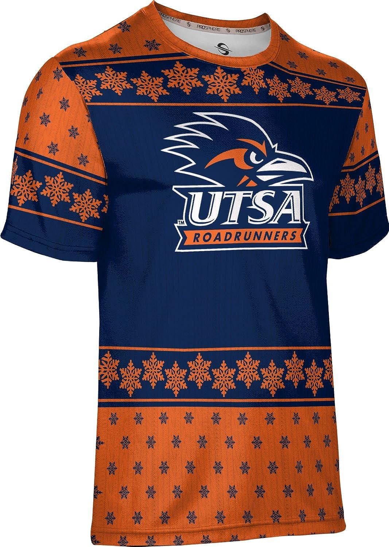 The University of Texas at San Antonio Ugly Holiday Mens Performance T-Shirt Snowflake