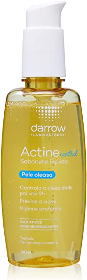 Sabonete Actine Control Liquido, 140 ml, DARROW