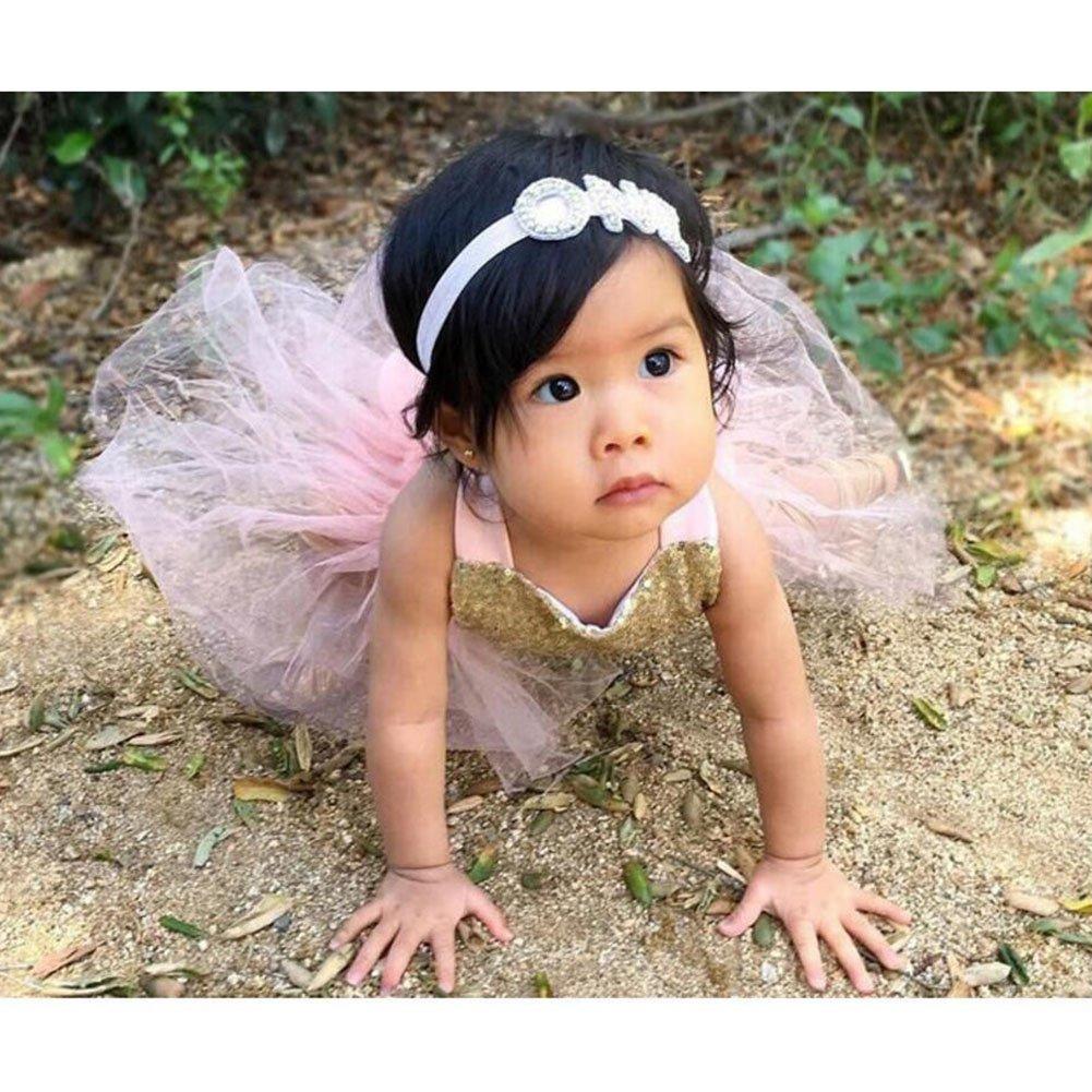 hibote Baby Kindergeschirr Kleider Prinzessin Kleid Baumwolle ...