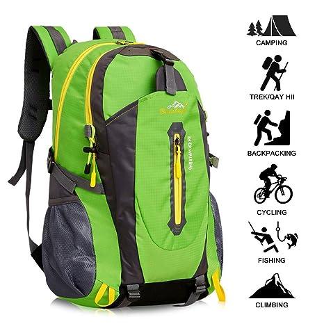 l'ultimo 046c8 92bdd Zaino Escursionismo Con Parte Esterna Rimovibile,Yunplus Ultraleggero Zaino  Da Trekking Per l¡¯Arrampicata, il Campeggio, le Escursioni in Montagna ...