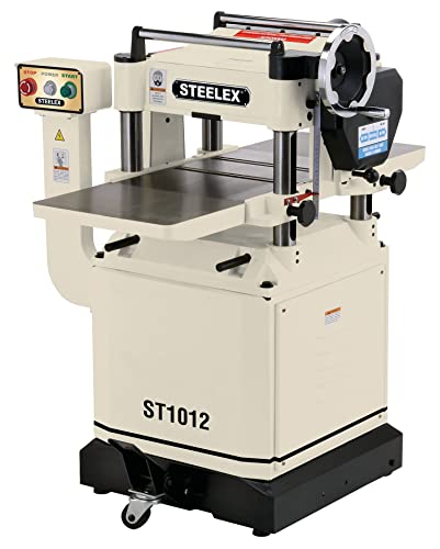 Steelex ST1012 Planer with Helical-Style Cutter head, 15