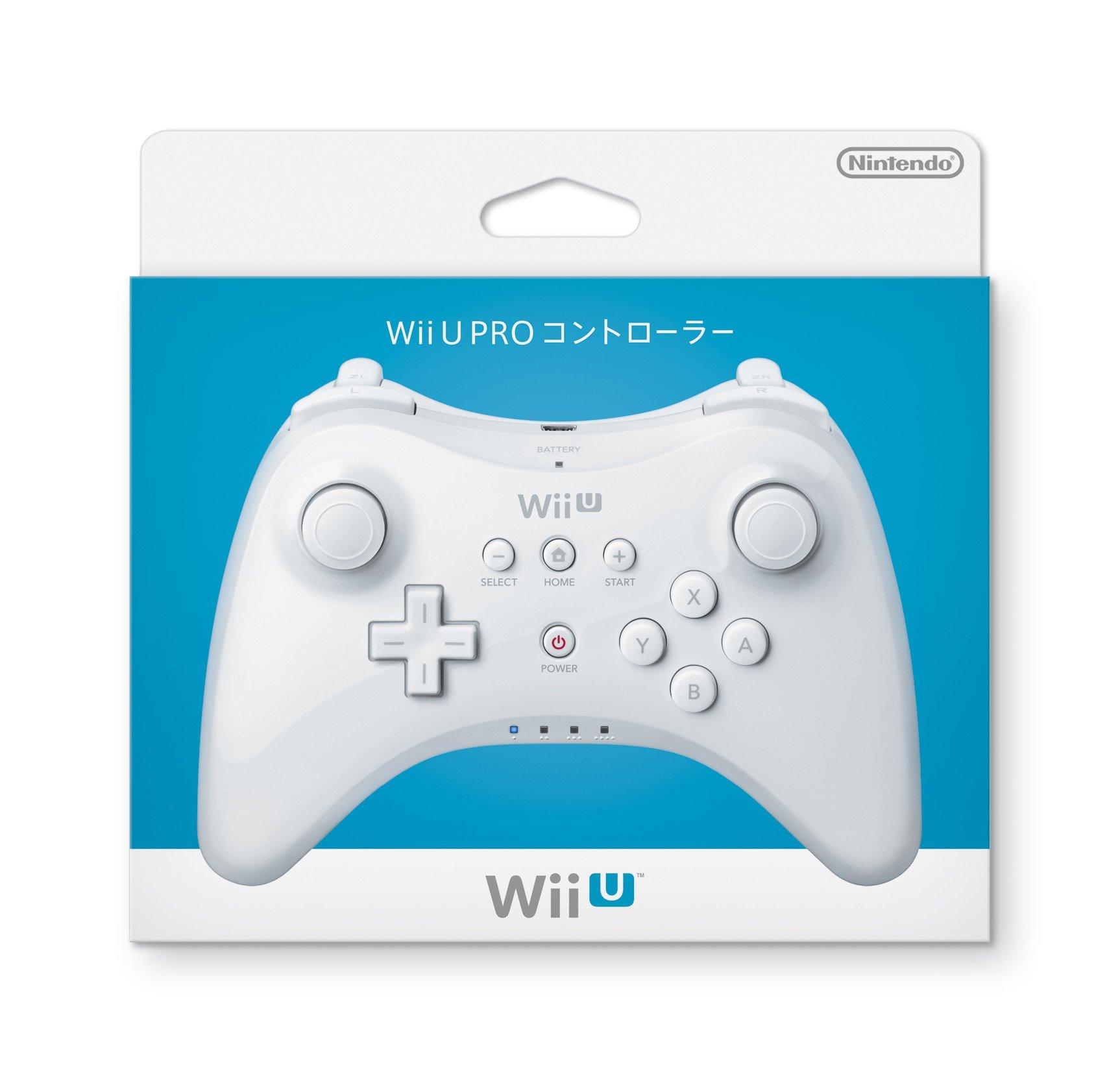 Nintendo - wuparswa - wii u pro controller - white