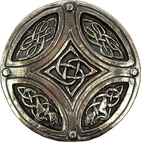Amazon.com: Círculo & Cruz Celta irlandés placa Wild Goose ...