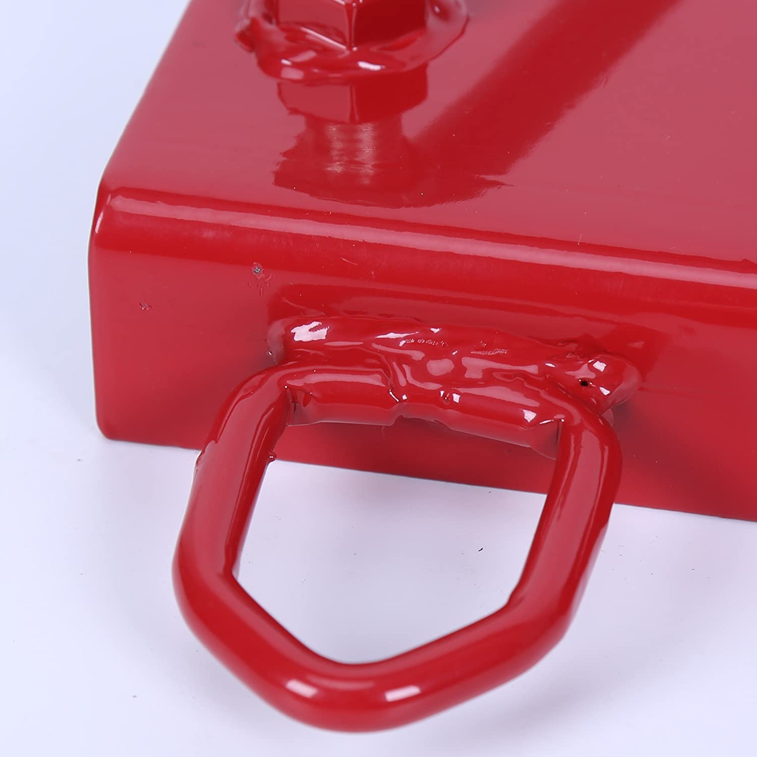 ECOTRIC New Clamp On Forklift Hitch Receiver Pallet Fork Trailer Towing Adapter 2 Insert FBA/_CA-14