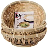 小柳産業 台付 枝豆ザル 3個セット φ15.5cm 38077