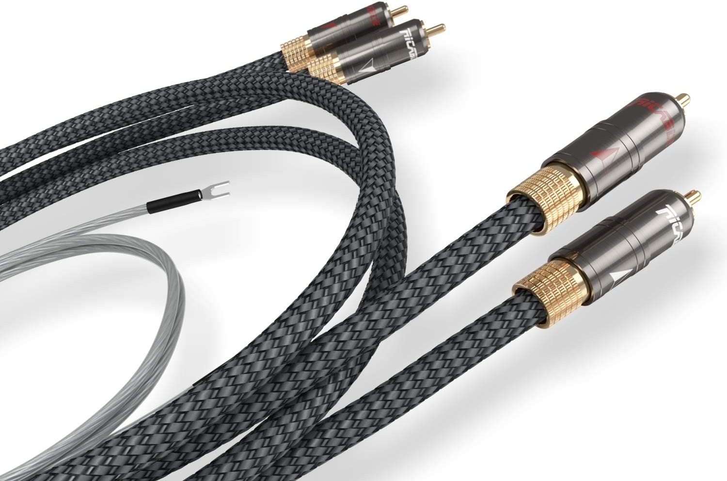 Ricable MT1 Magnus 2 x 1 m - High-End Cable Audio Cinch RCA ...