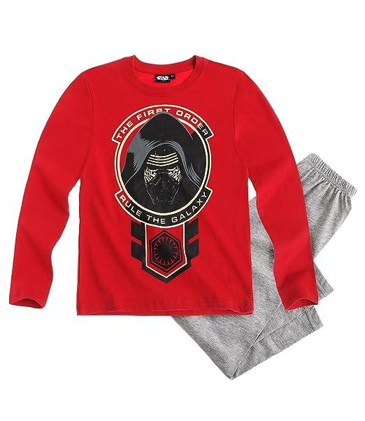 Star Wars-The Clone Wars Darth Vader Jedi Yoda Chicos Pijama - Gris: Amazon.es: Ropa y accesorios