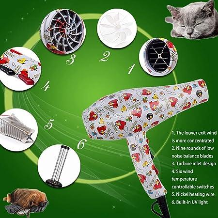 GAOJIN El Ahorro de energía secador Perros Profesional 1552W