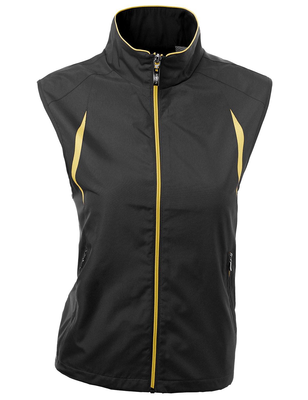 Xpril 2-Tone All Weather Proof Vest Black Size L