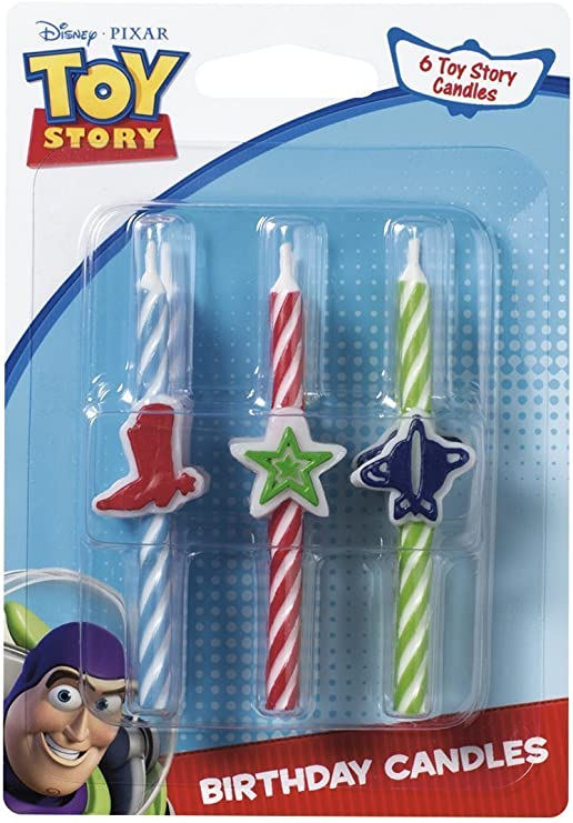 by Hallmark Toy Story Game Time Birthday Candle Molded Candle 1 per package