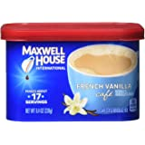 Maxwell House International French Vanilla Cafe, Beverage Mix, 4 Count, 33.6 Ounce