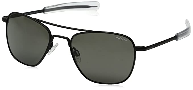 0d712a6f6e Amazon.com  Randolph Aviator Square Sunglasses
