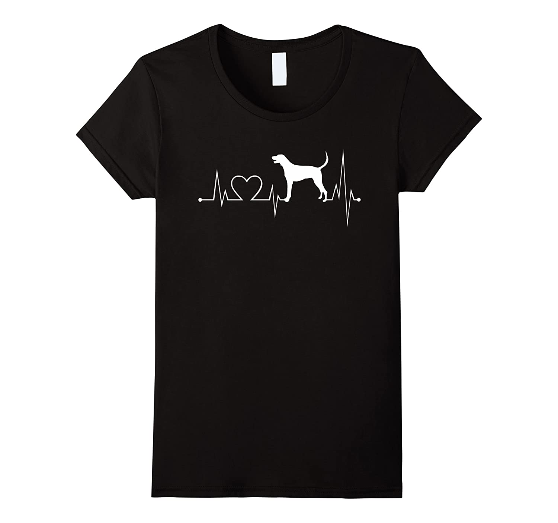 American-Foxhound heartbeat shirt-Foxhound lovers tshirt
