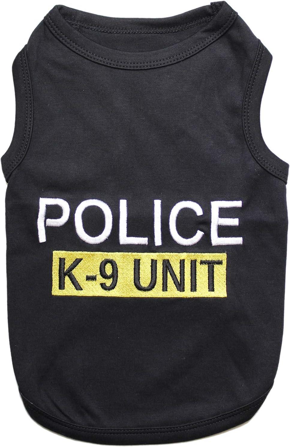 XXS Parisian Pet Sheriff Dog T-Shirt