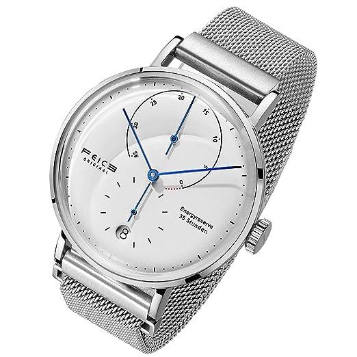 FEICE Relojes Mecánicos Automáticos para Hombre Reloj Bauhaus Reloj Unico Espejo Curvo Relojes Multifunciones Resistente al Agua FM202: FEIKE: Amazon.es: ...
