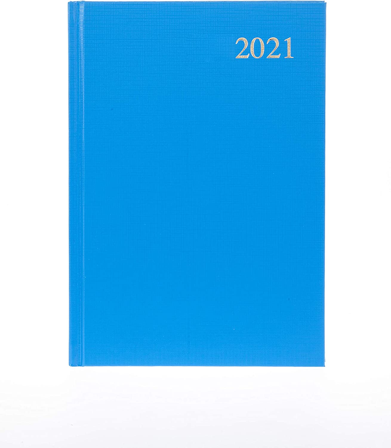 Collins Essential A4 Day to Page 2021 Diary Light Blue