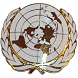 Issue OR's United Nations Cap Badge - UN Beret Badge