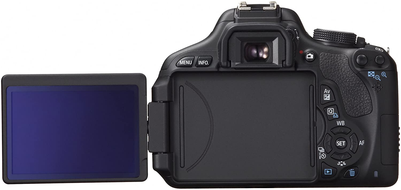 Canon Eos Kiss X5 Digital Slr Camera 2 Lens Kit Tutup Body Lensa Nikon Dslr International Version No Warranty Photo