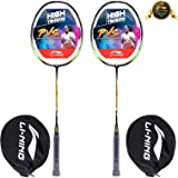 Li-Ning XP Series Aluminum Badminton Racquet, Set of 2