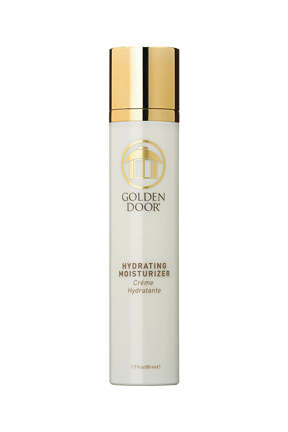 Golden Door Hydrating Moisturizer, 1.7 fl oz, hyaluronic Acid, Deeply Hydrating Daily Facial moisturizer, Anti Wrinkle, Quench Thirsty Skin, Banish Dry Skin, absorbs Quickly, replenishing