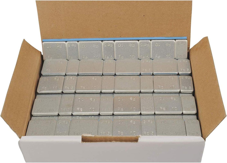 6 kg Masilla adhesiva, barra adhesiva, contrapeso, 4 x 5 g + 4 x 10 g, 100 unidades de 60 g