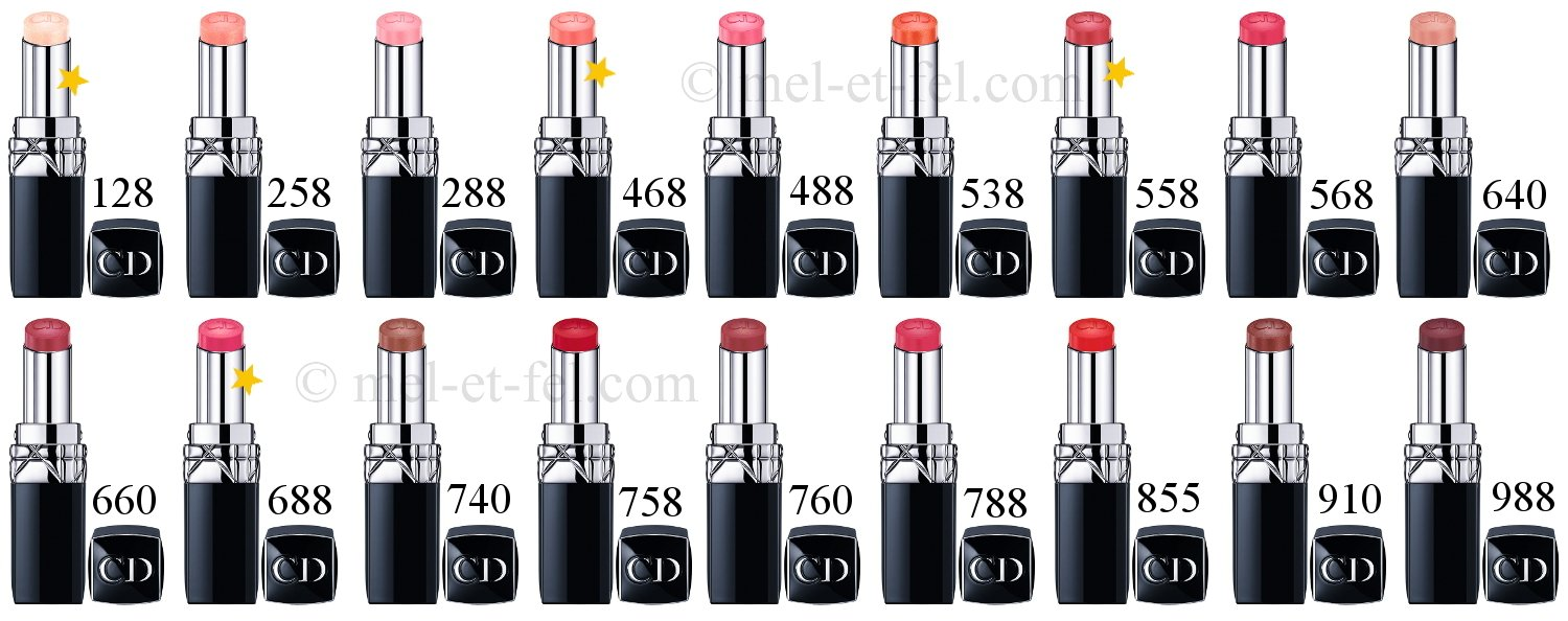 Amazon.com : Christian Dior Rouge Baume Natural Lip Treatment for ...