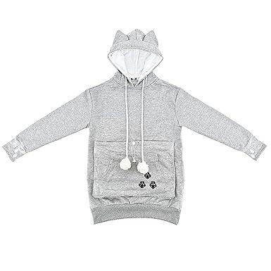7cd774cc87e4fa ... Haustier Katze Hund Känguru Beutel Kapuzenpullover Pullover Pullover Tasche  Kapuzenpullover Katze Hund Halter Träger Sweatshirt  Amazon.de  Bekleidung