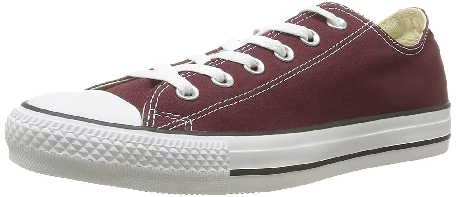 Converse Chuck Taylor All Star Season Ox, Zapatillas Unisex adulto 46 EU|Morado (Burgundy)
