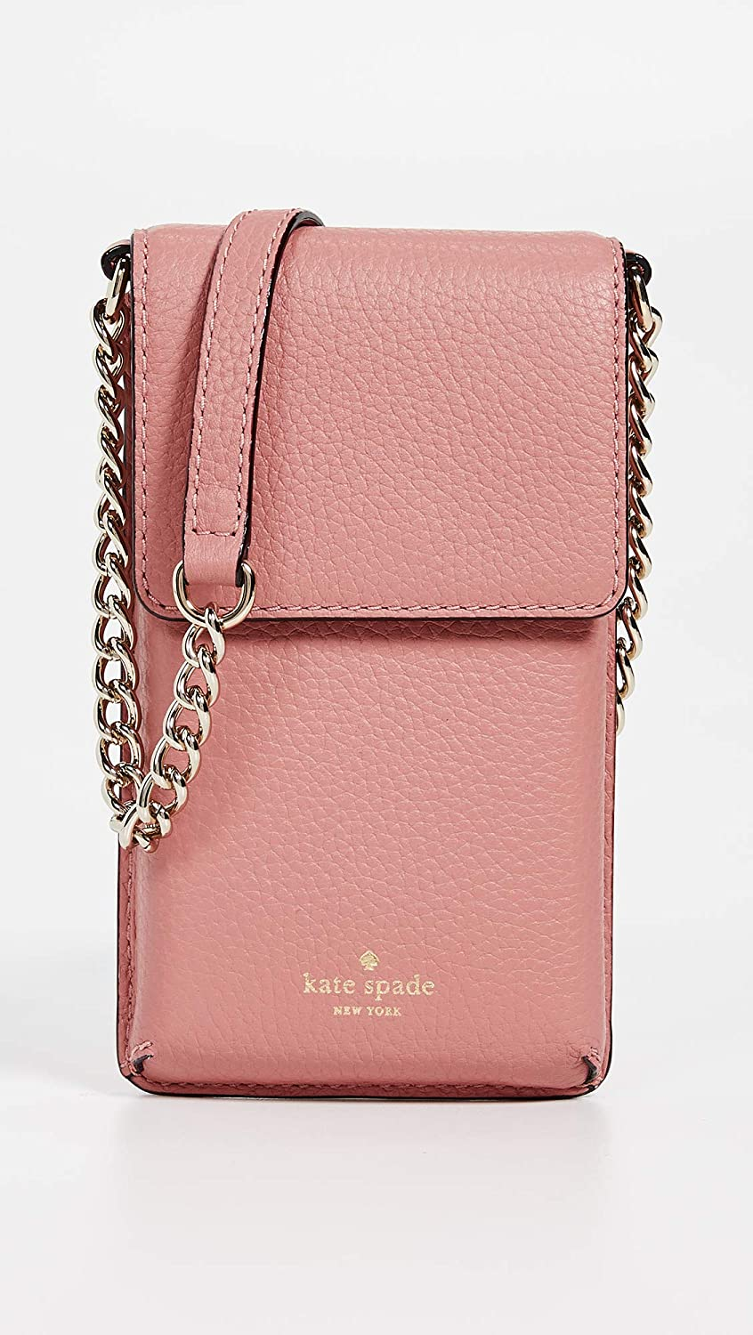 19d68808dc48 Amazon.com: Kate Spade New York Women's North South Phone Crossbody Bag,  Mauve Rose, Pink, One Size: Shoes