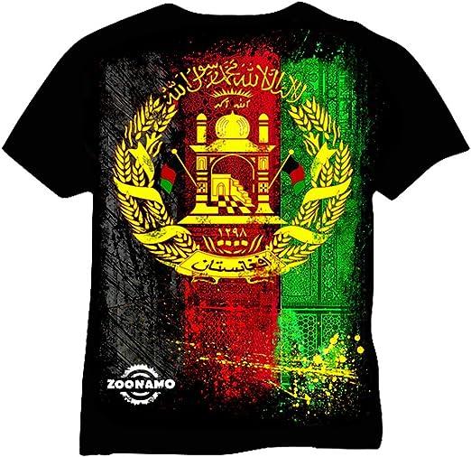 Zoonamo T-Shirt Afghanistan Classic: Amazon.es: Ropa y accesorios