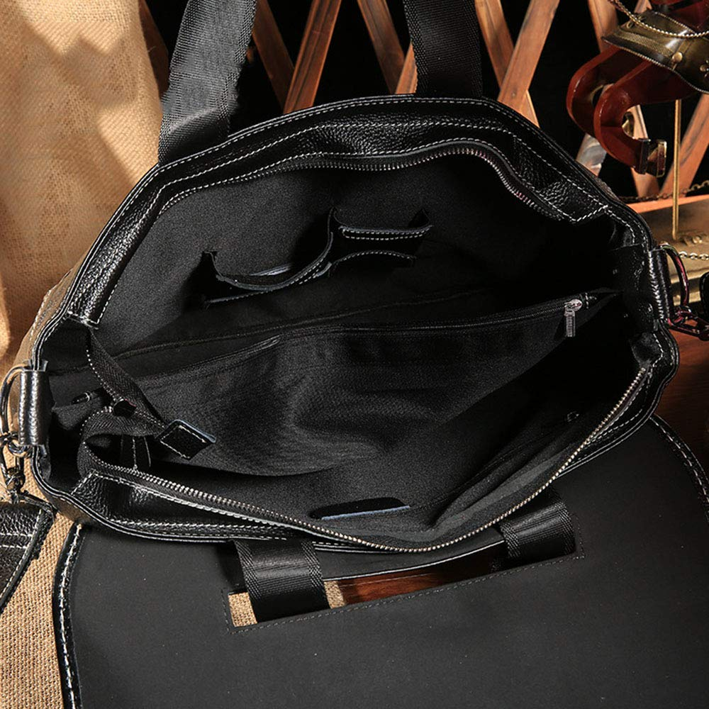 TLMYDD Casual Business Trend Mens Tote Bag Briefcase Mens Shoulder Messenger Bag Briefcase