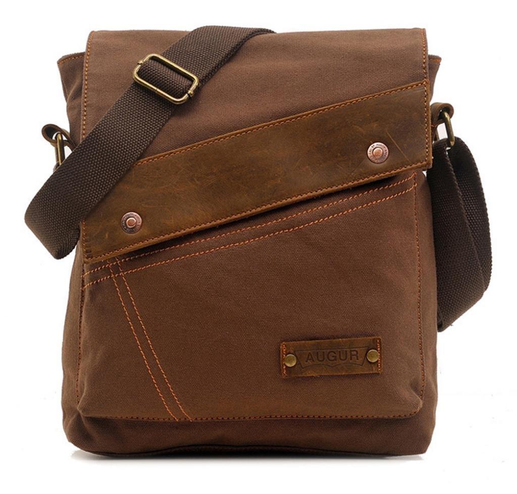 Vere Gloria Messenger Bag,Vintage Canvas Shoulder Crossbody Bag for Everyday Use BAG-7104