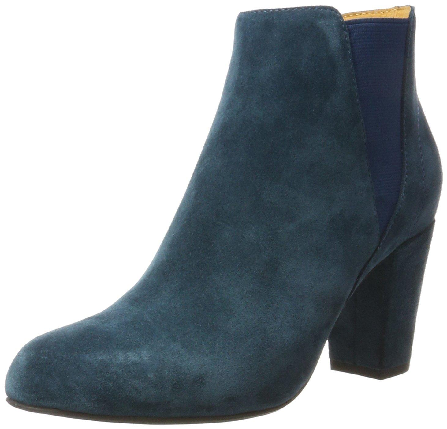 Shoe The Bear Hannah S, Botines para Mujer39 EU Azul (172 Petrol)