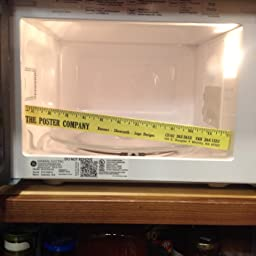 Countertop Microwave Small Footprint : ... Countertop Microwave Oven in Stainless Steel: Kitchen & Dining