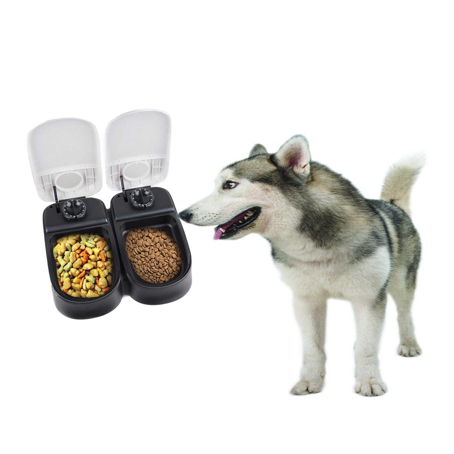 feeder dogs dispenser automatic timer product smart acevog voice for pet mirage recorder food dog rakuten shop programmable and small with