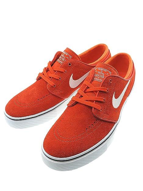 Nike SB Zoom Stefan Janoski Max OrangeWhite Black 8uk