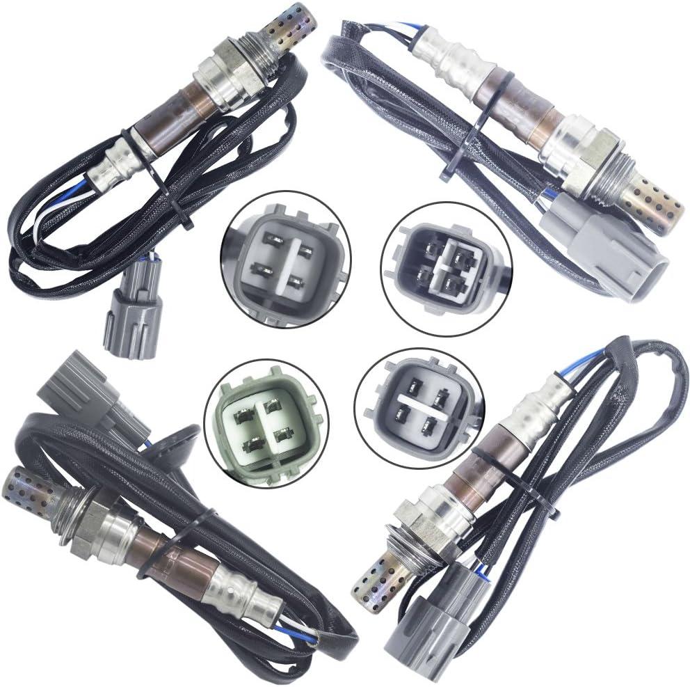 Oxygen Sensor 02 O2 for Lexus GS300 2000-2005 3.0L Upstream Downstream 4PCS