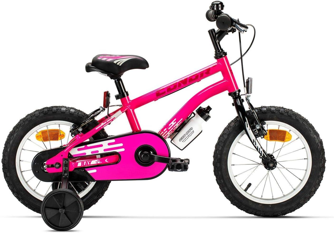 Conor Bicicleta Ray Rosa. Bicicleta Infantil de Cuatro Ruedas ...