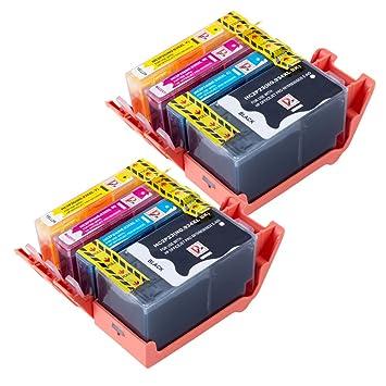 8 cartuchos de tinta compatibles con sustituir la 934 XL ...