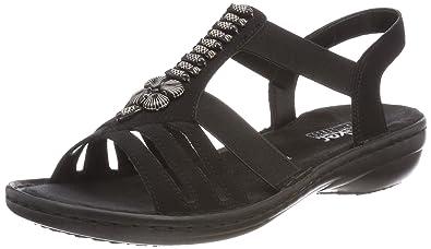Rieker Damen 60806 Geschlossene Sandalen